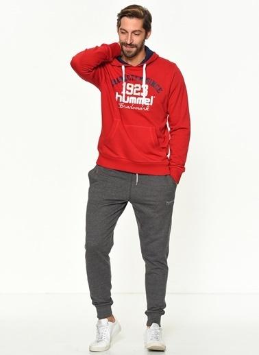 Hummel Kapüşonlu Sweatshirt Kırmızı